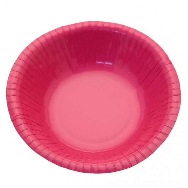 Hot Pink Paper Bowls