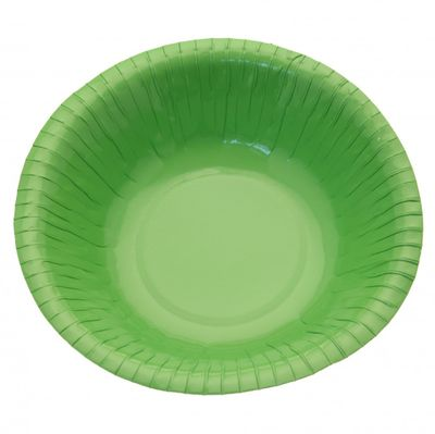 Lime Green Paper Bowls