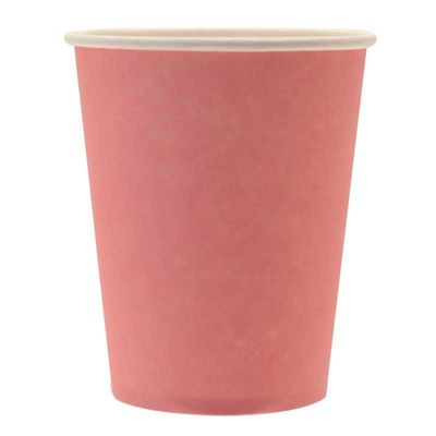 Pale Pink Paper Cups