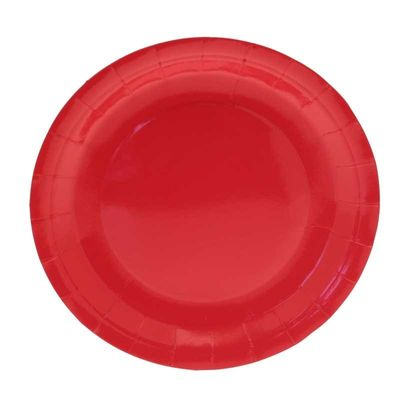 Red Party Plates