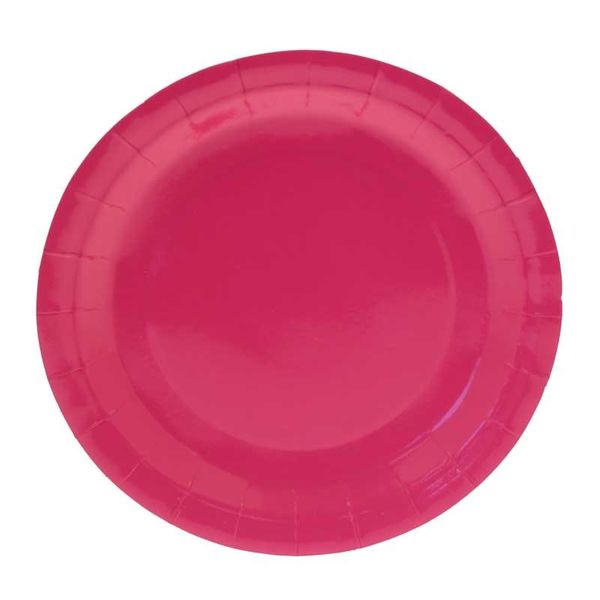Hot Pink Party Plates