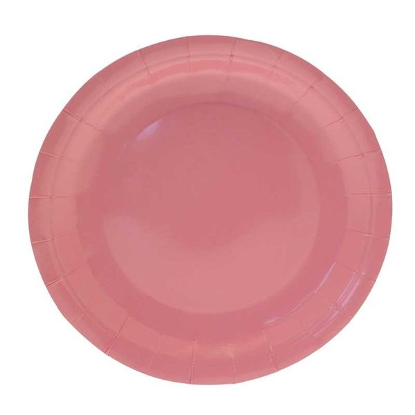 Pale Pink Plates