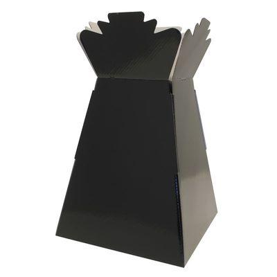 Black Living Vase