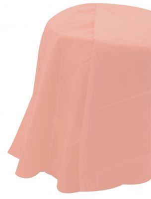 Pale Pink Round Tablecover
