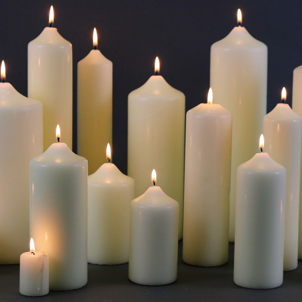 Ivory Candles