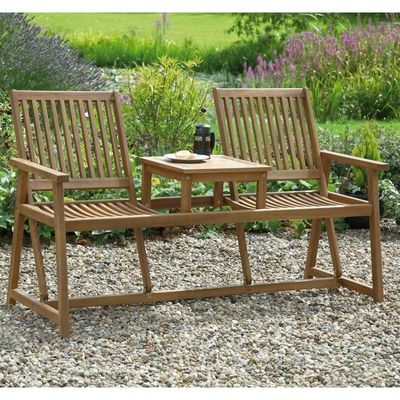 Greenhurst Switchable Beckrest Companion Bench