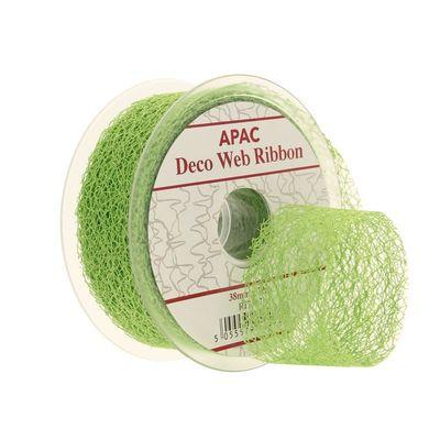 Lime Green Decoweb