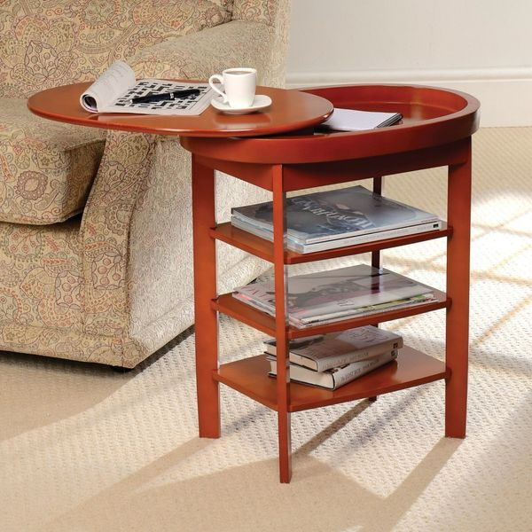 Gablemere Swivel Top Table - Oak