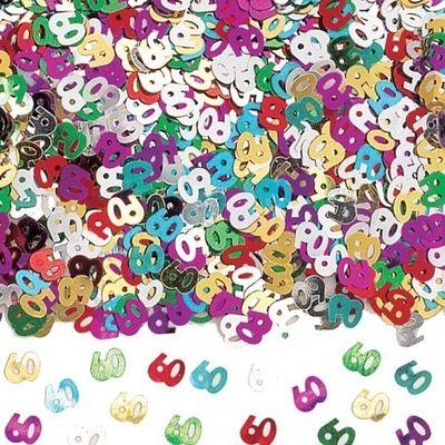 60th Birthday Confetti