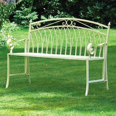 Gablemere Versailles Garden Bench - Cream