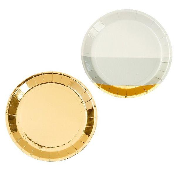 Modern Metallics Plates