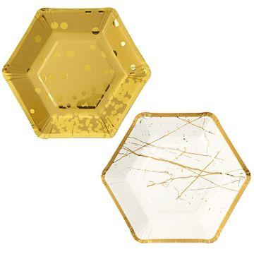 Hexagonal Party Plates