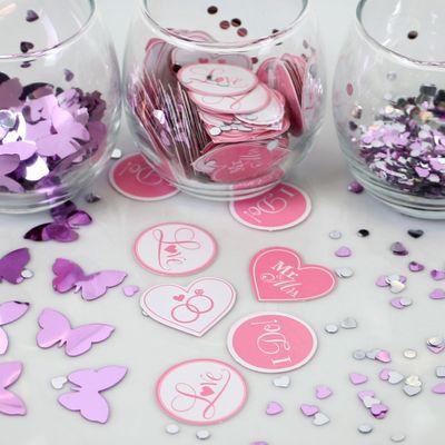 Butterfly I Do Confetti