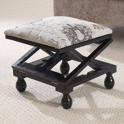 Greenhurst Multi Position Footstool - Mahogany