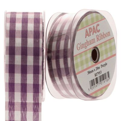 Purple Large Gingham