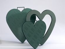 Open Foam Heart Frame (17 inch)