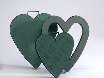Open Foam Heart Frame (17 inch)