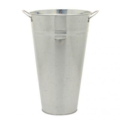Galvanised Vase