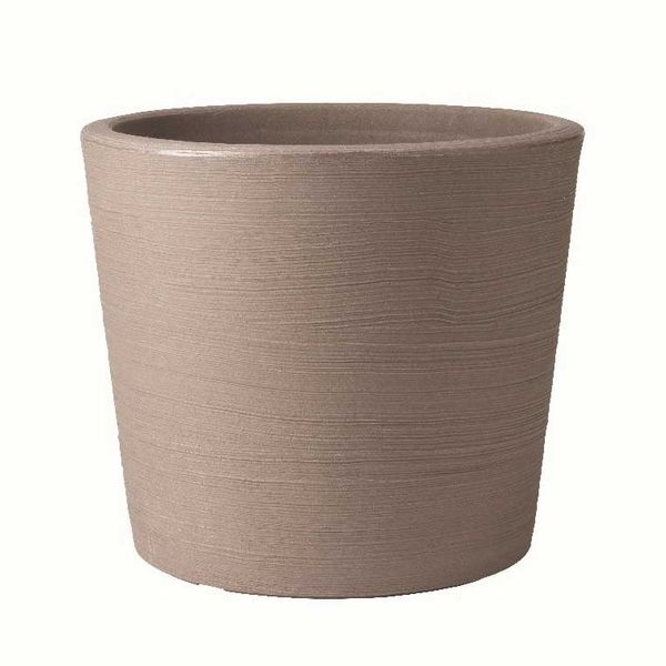 Stewart Varese Low Planter - Dark Brown