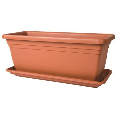 Stewart 80cm Trough Tray - Terracotta