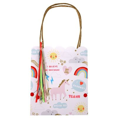 Rainbow and Unicorn Party Bags