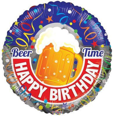 Happy Birthday Beer Balloon