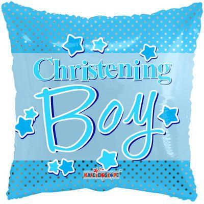 Christening Boy Balloon