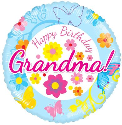 Happy Birthday Grandma Balloon