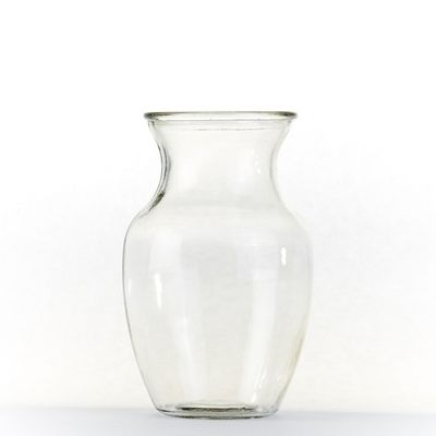 Clear Glass Hand Tied Vase