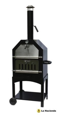 La Hacienda Stainless Steel Pizza BBQ Oven 56107