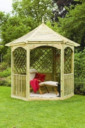 Forest Garden Burford Gazebo BGMHD