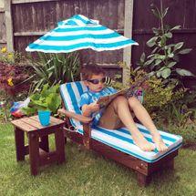 Kingfisher Kids Lounger Set