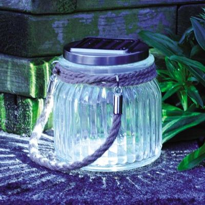 Kingfisher Solar Powered Rope Lantern
