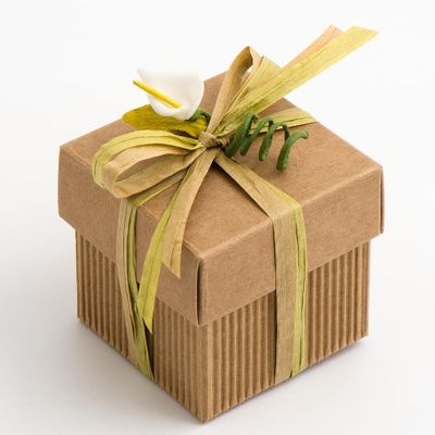 Kraft Paper Favour Box