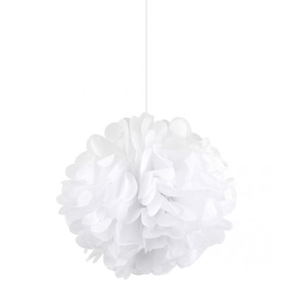 White Pom Pom (15 inch)