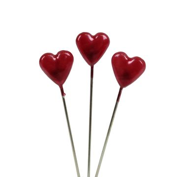 Red Heart Pins