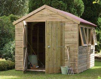 Forest Garden Premium Apex Workshop