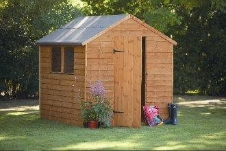 Forest Garden Overlap Apex Shed 8x6
