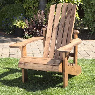 Charles Taylor Adirondack Style Garden Chair