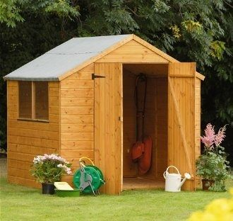 Forest Garden Shiplap Apex Shed 7x7
