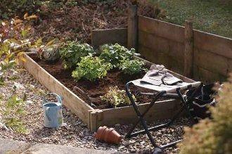 Forest Garden Slot Down Vegetable Bed