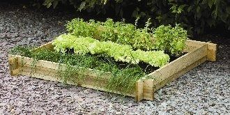Forest Garden Slotted Raised Bed