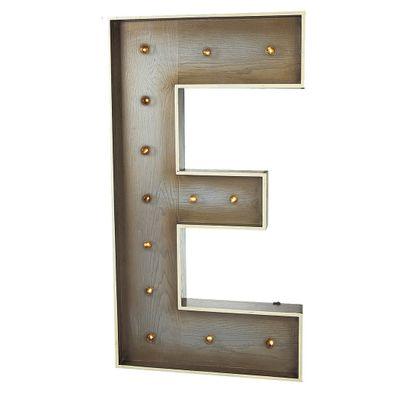 Giant E Letter