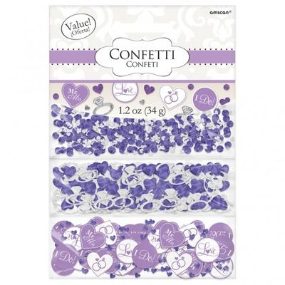 Lilac i do confetti