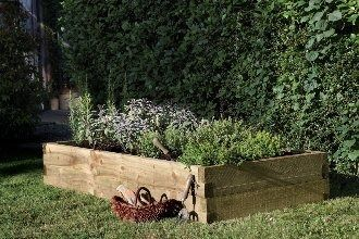 Forest Garden Caledonian Raised Bed 180x90cm