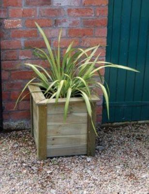 Forest Garden Square Bamburgh Planter Kit