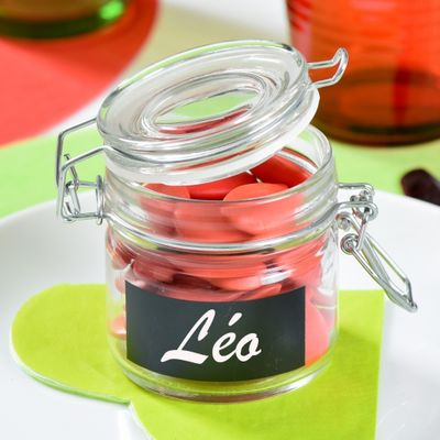 Blackboard Favour Jar