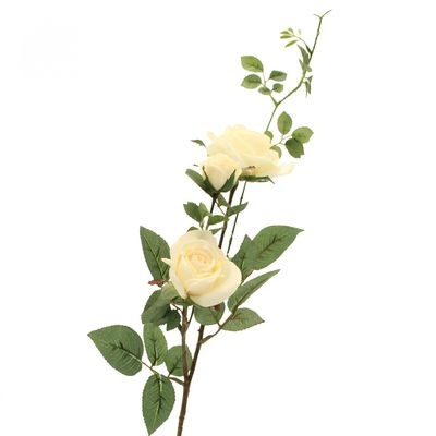 Cream Rose Spray