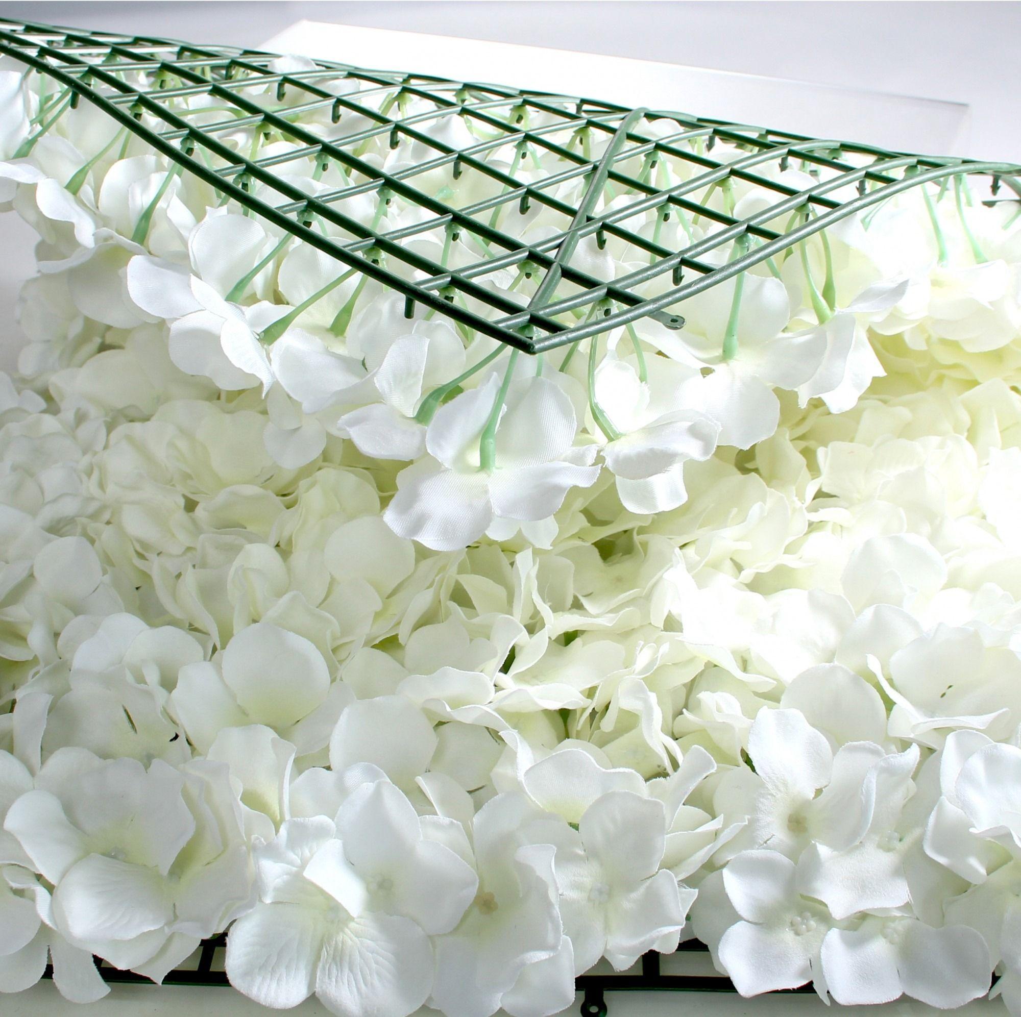 Silk Flower Walls