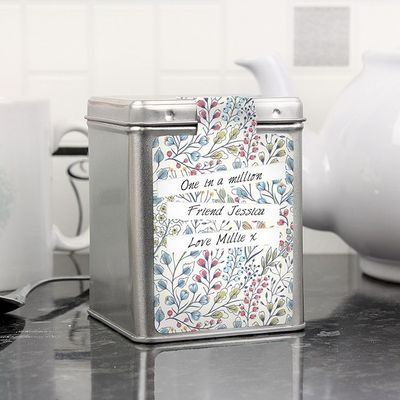 Botanical Tea Tin